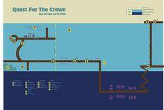 Spongebob's Quest for King Neptune's Crown Spongebob, Crown, King, Corona, Sponge Bob, Crowns, Crown Royal Bags