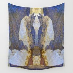 Warrior Rock Wall Tapestry by crismanart Wall Tapestries, Wall Hangings, Tapestry, Rock Wall, Tablecloths, Outdoor Walls, Hand Sewn, Vivid Colors, Favorite Color