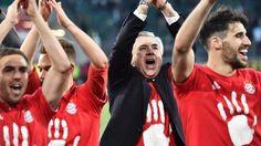 Bayern Munich sew up a fifth-straight Bundesliga title with a commanding win at Wolfsburg.