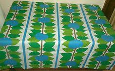 Swedish 70's Apple & Leaf Fabric