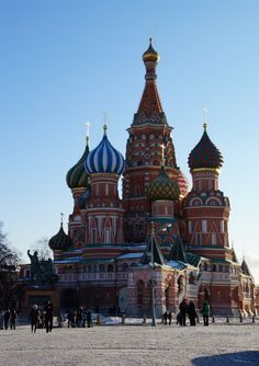 Number 3 on your list of things to do in Moscow: St. Basil's cathedral on Red Square
