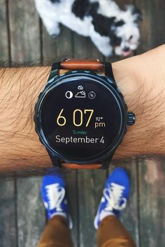 The Q Marshal smartwatch tracks your steps, keeps you connected, and so much more. via @simonsouksanh