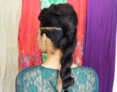 5 Absolutely Gorgeous Natural Hair Styles for an Evening Out - Twisted Beauty