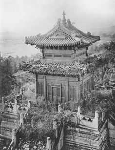 Part of the ruined Old Summer Palace, Beijing, circa 1860 Image: © Paul Popper/Popperfoto/Getty Images
