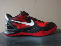 best website 44607 28e4a Kobe Shoes 2013 Cheap For Sale Kobe VIII 8 Sport Red Black White  65.85  Nike Zoom
