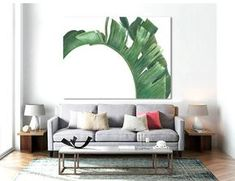 Palm PRINTABLE FILE MM palm art banana leaf palm leaf by Dantell
