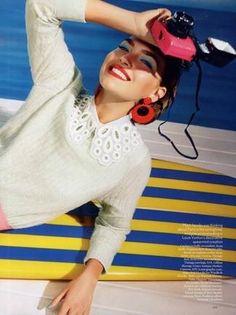 LIttle Miss sunshine (British Vogue) Feb 2012