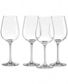 Lenox Stemware, Tuscany Classics Pinot Grigio Wine Glasses, Set of 4 - Glassware & Drinkware - Dining & Entertaining - Macy's Pinot Noir Wine, Wine Subscription, Wine Glass Set, Wine Gifts, Fine Wine, Wine Tasting, Tuscany, Red Wine, Drinkware