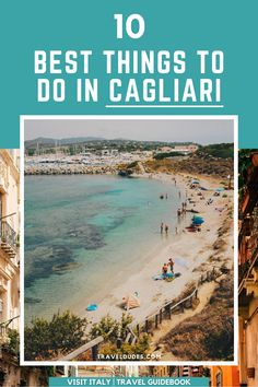 Cagliari is the capital of the island of Sardinia in Italy, and has become one of the most popular destinations to visit in Sardinia. If you're wondering what to see in Cagliari, Sardinia - here's a list of the best outdoor places to visit. This guide forms part of our Visit Italy Travel Guidebook | Travel Dudes #Travel #Sardinia #Italy | things to do in cagliari | cagliari sardinia Europe Travel Guide, Italy Travel, Travel Destinations, Beach Travel, Beach Trip, Sardinia Italy, Visit Italy, Beautiful Beaches, Great Places