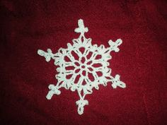 Inspired Crochet Design: 2009 Snowflake - free crochet pattern