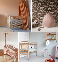 Rotan wieg | Kinderkamerstylist Baby Room, Toddler Bed, Nursery, Furniture, Home Decor, Child Bed, Decoration Home, Room Decor, Home Furnishings