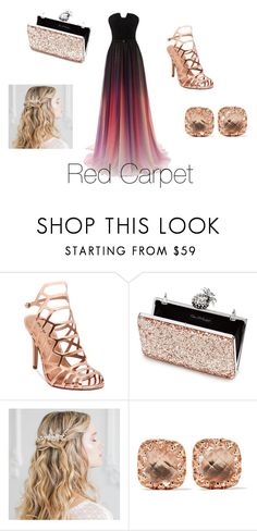 """Red carpet"" by becv ❤ liked on Polyvore featuring Madden Girl, Miss Selfridge and Larkspur & Hawk"