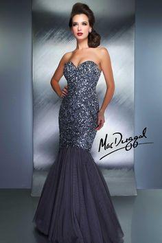 Mermaid Dress With Strapless Sweetheart Cut - 1149D   Mac Duggal