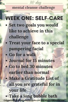 Mental Cleanse Challenge: Week One | www.awelderswife.com