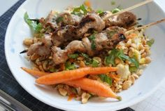 Vietnamese Chicken Satay & Fried Rice