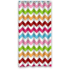 Color Your Life Chevron Pink Green Yellow Red and Blue Personalized Waterproof and Mold-proof Shower Curtain 36 Inches * 72 Inches Polyester ColorYourLife http://www.amazon.com/dp/B00MQZKQPQ/ref=cm_sw_r_pi_dp_H5k.tb11K1HWQ
