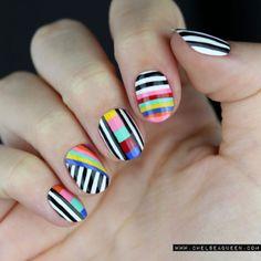 Colorful Stripes | Chelsea Queen | Bloglovin'