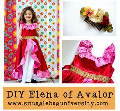 Snugglebug University: Elena of Avalor Costume