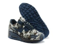 newest 17bf3 6a159 116 Femme Homme Nike Air Max 90 Hyperfuse Camouflage Bleu Pas Cher  productos outlet a prix discount shop in