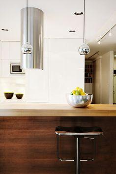 Apartament by DCS Barbara Jasicka #whiteinterior #interiordesign #kitchen #bosch #siemens