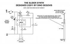 slidersynth II schematic