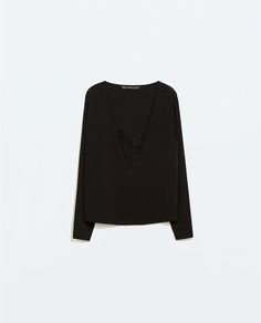 ZARA - NEW THIS WEEK - COMBINED LACE TOP