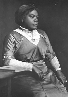 Mary McLeod Bethune (ca. 1910)  One of the nation's prominent educators and civil rights leaders, Bethune's political career included appointments to the National Youth Administration by President Franklin D. Roosevelt and as a delegate to the founding conference of the United Nations by President Harry S. Truman. She established a school for girls in Daytona Beach that later became Bethune-Cookman College.