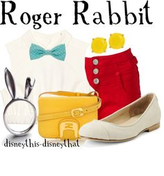"""Roger Rabbit"" by disneythis-disneythat ❤ liked on Polyvore"
