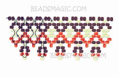 free-pattern-beading-necklace-tutorial-21.jpg (1300×850)