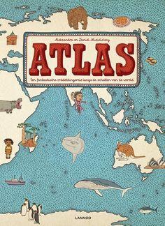 Atlas   Aleksandra en Daniel Mizielinscy - De Oude Speelkamer - Groot, kleurrijk, verrassend: een adembenemende atlas. Een fantastische ontdekkingsreis langs de schatten van de wereld. Met meer dan 50 kaarten en honderden illustraties.