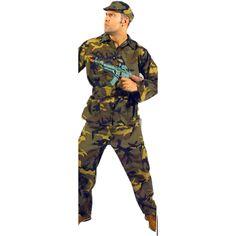 Rambo code produit : 951-171 4 pièces : Veste , Pantalon, Ceinture et Coiffe. Taille(s) : 54.