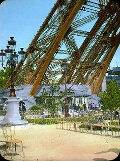 Paris Exposition: Eiffel Tower, Paris, France, 1900 by Brooklyn Museum, via Flickr