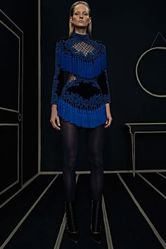 Ready-To-Wear Collection via Designer Olivier Rousteing | Modeled by ? | January 25, 2016; New York