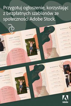 Web Design, Great Logo Design, Print Design, Cv Inspiration, Graphic Design Inspiration, Mises En Page Design Graphique, Plakat Design, Yearbook Design, Magazine Layout Design