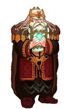 Thror son of Dain by Art-Calavera.deviantart.com on @DeviantArt