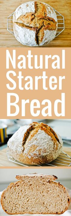 The ultimate step-by-step recipe to make natural starter bread easily. Detailed instructions so even baking rookies can get the perfect crust and crumb!