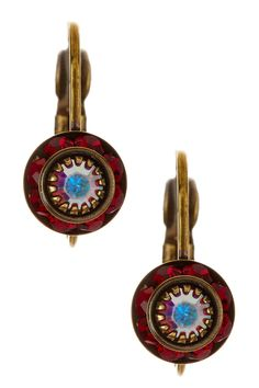 Small Rondelle Leverback Earrings by Liz Palacios on @nordstrom_rack