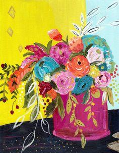 Bouquet Series No. 5 Original Print