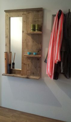 Pallet Furniture Projects The Best 60 DIY Pallet Projects for Your Bathroom ⋆ Crafts and DIY Ideas - The Best 60 DIY Pallet Projects for Your Bathroom - Crafts and DIY Ideas Bathroom Crafts, Pallet Shelves, Home Decor Items, Diy Furniture, Wood Pallets, Bathroom Shelf Decor, Wood Diy, Pallet Home Decor, Pallet Diy