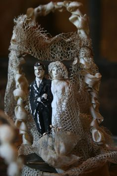 Vintage Cake Topper~Image by Amy Hanna