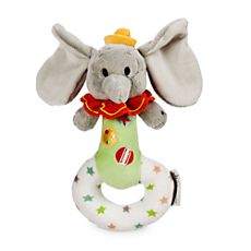 Dumbo Plush Rattle for Baby
