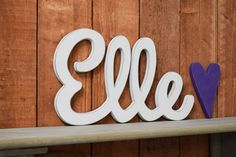 Elle Baby Name Wooden Sign - Nursery Decor - Baby name signs for baby showers and home decor by on Etsy names 2020 names classic names irish names italian names southern New Baby Names, Baby Girl Names, Boy Names, Baby Name Signs, Baby Shower Signs, Nursery Signs, Nursery Decor, Baby Decor, Nursery Room