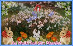 Felicitare de 1 Martie: Martie, Christmas Ornaments, Holiday Decor, Christmas Jewelry, Christmas Ornament, Christmas Baubles