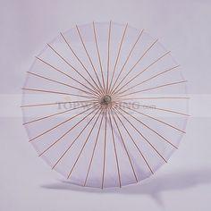 Lilac Allover Tulle Wedding Umbrella