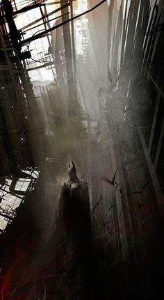 Batman Industry. Batman Art. Bat-Art