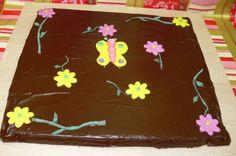 Brownie de primavera