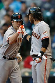 Buster Posey & Brandon Crawford http://www.sfbayhomes.com #sfbayhomes.com