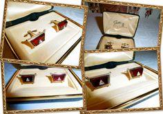 GEMELLI DA UOMO CAMICIA POLSO IN  CERIMONIA STRATTON ENGLAND VINTAGE cufflinks