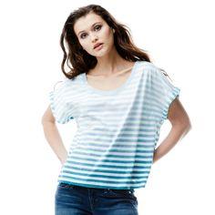 T-shirt rayé manches roulées femme LEVI'S® - 3 Suisses