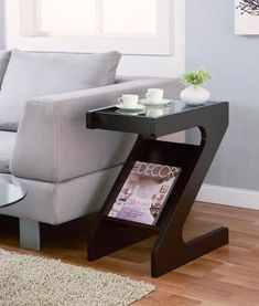 Best 12 Furniture Of America Gildun Glass Top Magazine Rack End Table Cappuccino Based in California, Furniture of America has spent more than 20 years establishing itself as a premier provider of fine home furnishings to urban-minded shoppers. The people Apartment Furniture, Home Decor Furniture, Table Furniture, Living Room Furniture, Modern Furniture, Living Room Decor, Furniture Design, Rustic Furniture, Furniture Movers